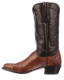 Men's Charles Caiman Crocodile Belly Boots