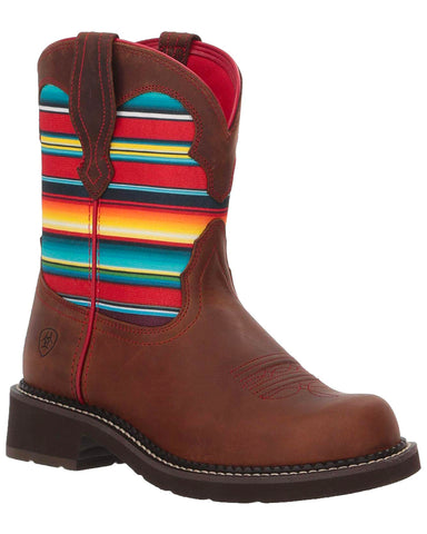 Women's Fatbaby Heritage Twill Western Boots