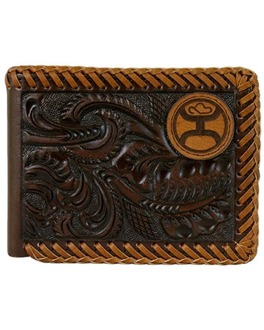 Men's Buckstitch Bi-Fold Wallet