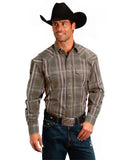 Men's Plaid Western Shirt