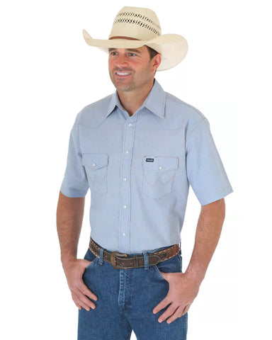Men's Cowboy Cut Work Western Shirt
