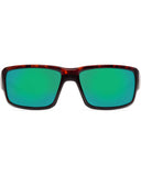 Fantail Green Mirror Fishing Sunglasses