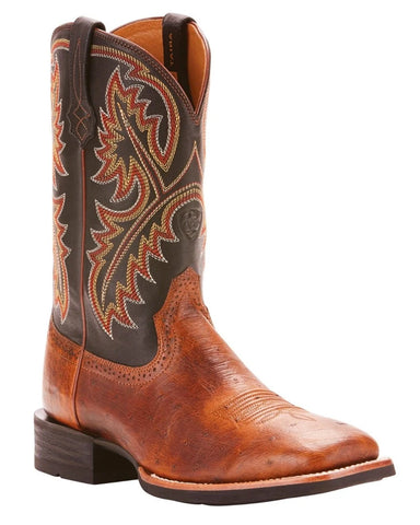 Men's Quickdraw Ostrich Western Boots