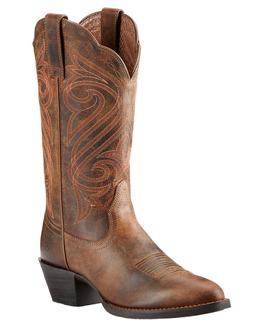 Women's Round Up R Toe Western Boots