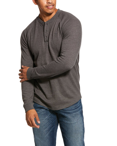 Men's Retro Henley T-Shirt