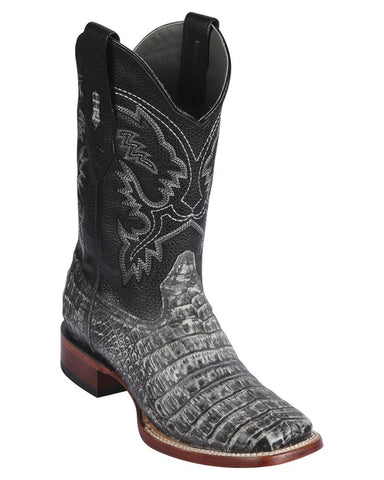 Men's Caiman Belly Western Boots