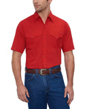 Men's Solid Western Shirt