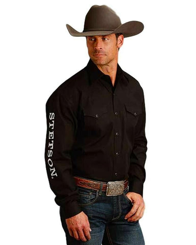 Men's Logo Western Shirt