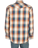 Men's Amarillo Plaid Western Shirt