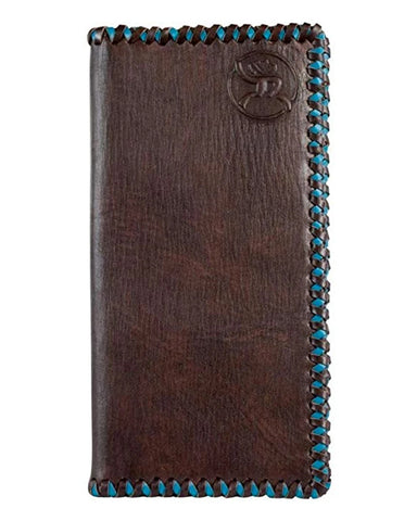 Turquoise Stitched Rodeo Wallet