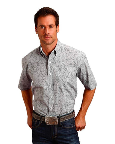 Men's Filigree Western Shirt