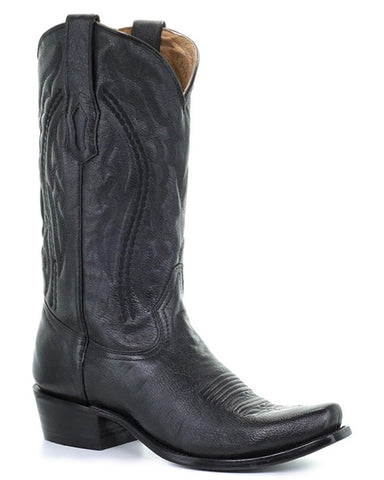 Men's Will Embroidered Western Boots