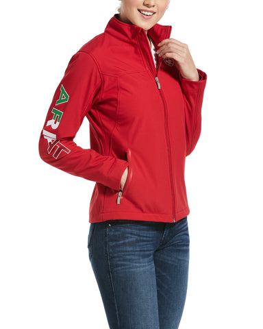 Women's Mexican Flag Softshell Jacket