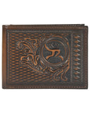 Bi-Fold Tooled Wallet