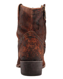 Womens Lamb Abstract Boots