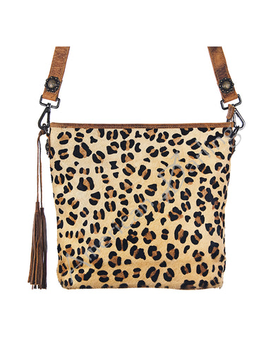 Women's Cheetah Print Conceal Carry Tote