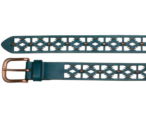 Women's Laser Cut Western Belt