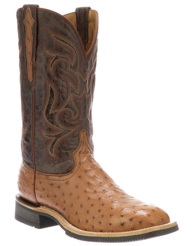 Men's Rowdy Full Quill Ostrich Western Boots