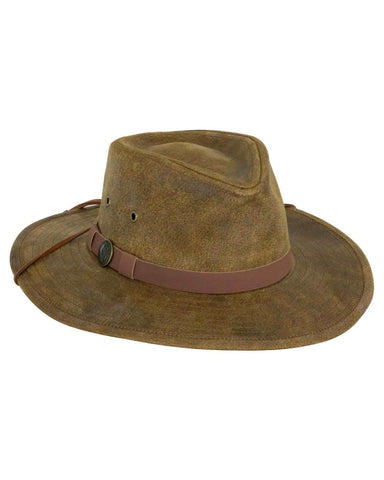 Kodiak Leather Hat