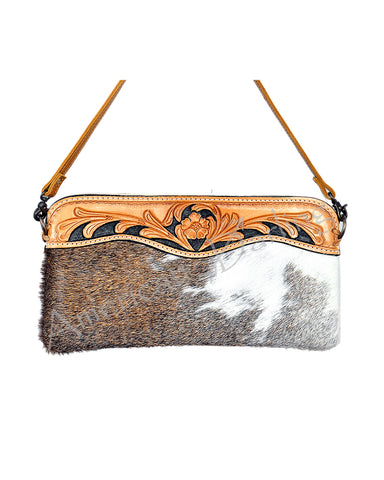 Women's Cow Hide Clutch