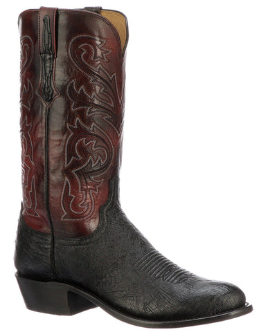 Men's Nathan Smooth Ostrich Boots