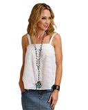 Women's Eyelet Cami Top
