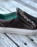 Women's Crater Inlay Embroidered Sneakers