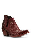 Womens Dixon Western Boots Sangria