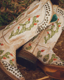 Women's Cactus Embroidered Western Boots
