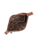 Women's Basket Weave Trail Purse