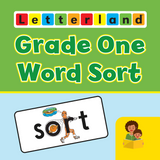 Letterland Grade One Word Sort App