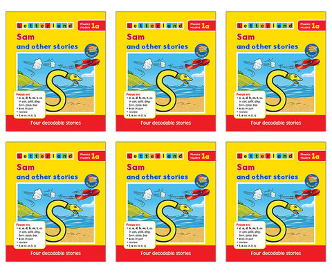 Phonics Readers Set 1 ( 6 x set of 5 books)