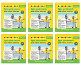 Phonics Readers Set 3 ( 6 x set of 5 books)