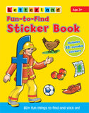 Fun-to-Find Sticker Book