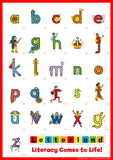 Alphabet Stickers (pack of 10)