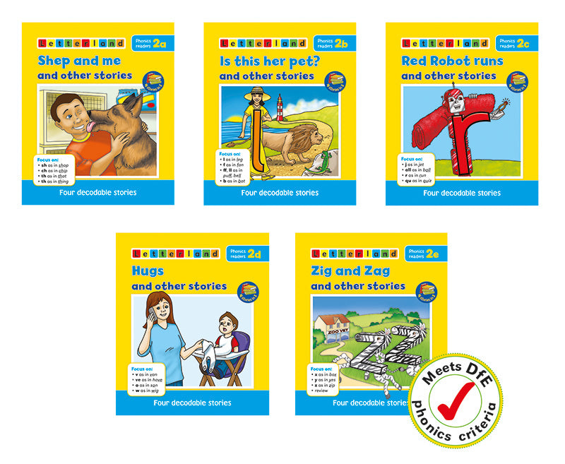 23+ Phonics Stories X Pictures