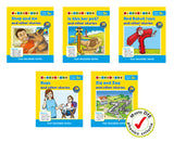Phonics Readers Set 2 (6 x set of 5 books)