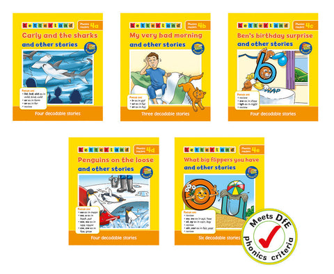 Phonics Readers Set 4