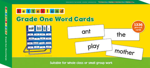Grade One Word Cards