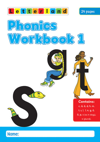 Phonics Workbook 1