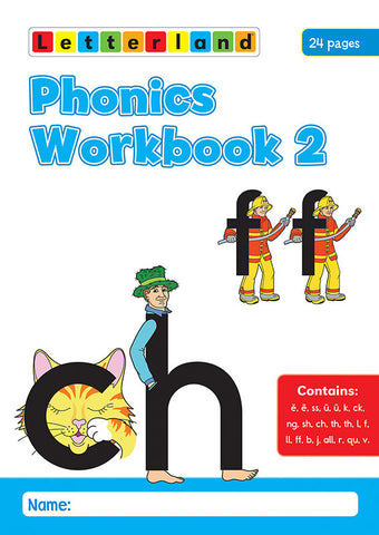 Phonics Workbook 2
