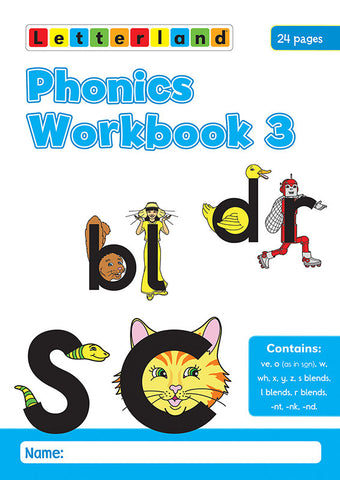 Phonics Workbook 3