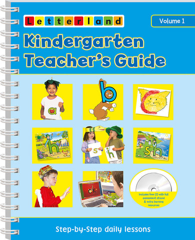 Kindergarten Vol.1 Teacher's Guide