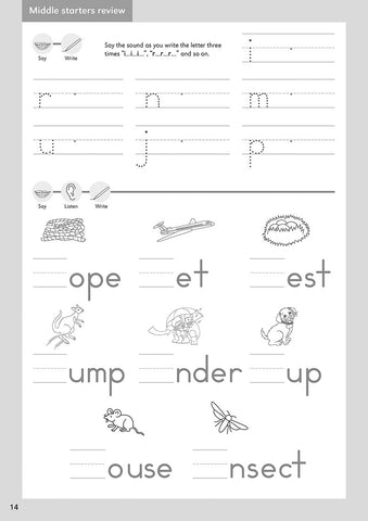 grade one handwriting practice letterland usa. Black Bedroom Furniture Sets. Home Design Ideas
