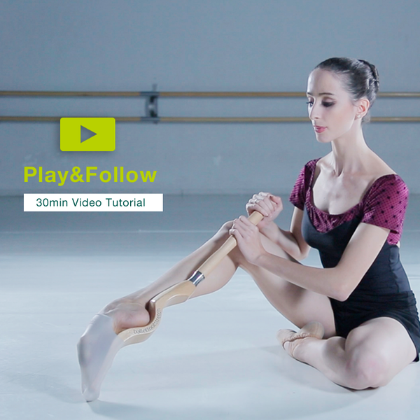 Video tutorial ballet dancers - Ballet Foot Stretch