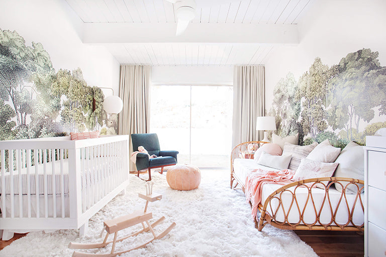 Emily Henderson Cool Stylish Trendy Luxury Girl Nursery