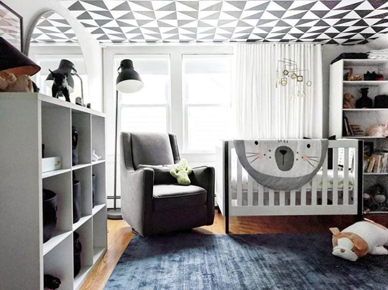 Nona Roundup Blog Cutest Coolest Modern Nursery Luxury Spaces Decor Home Lifestyle