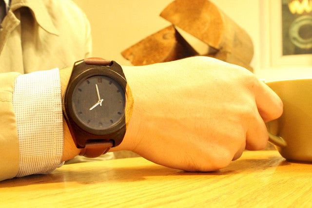 TAKEMOTO's new work:handmade customized wood $ bamboo TAKE WATCHES