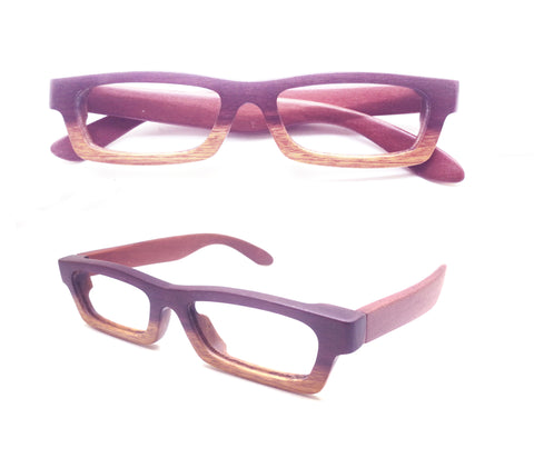 purple hear wood LOVE-WOOD two tone