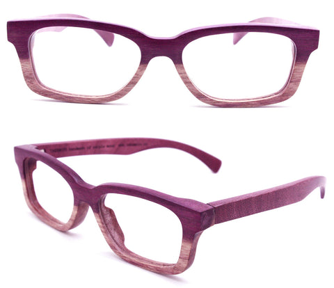 Paris Autumn  two tone  purple wood